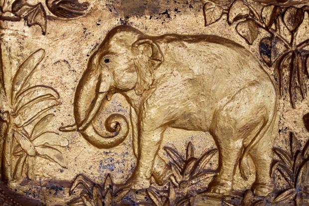 Detail at Wat Xieng Thong