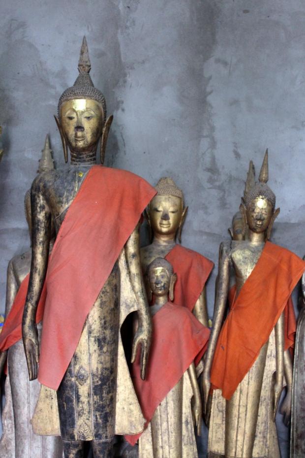 Inside the Wat Xieng Thong