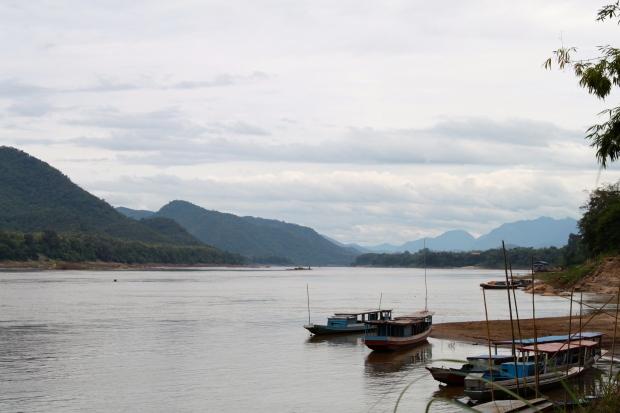 Views down the Mekong