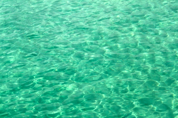The sea around Koh Rong Samloem