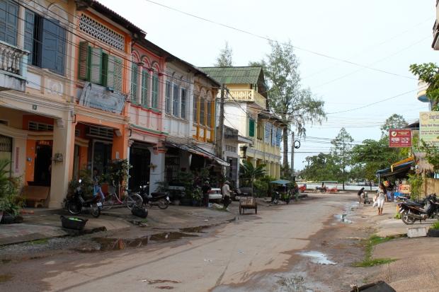 Kampot high street