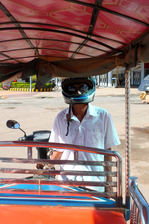 Our tuk tuk driver Pat. Every member of his family was killed by the Khmer Rouge