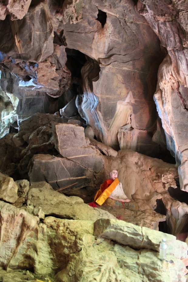 Inside the elephant cave