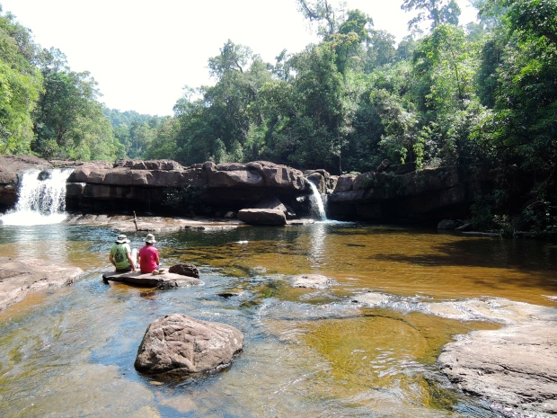 Waterfall near Koh Kong City