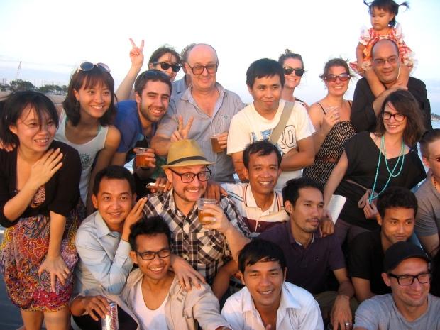 Christmas do on the Mekong
