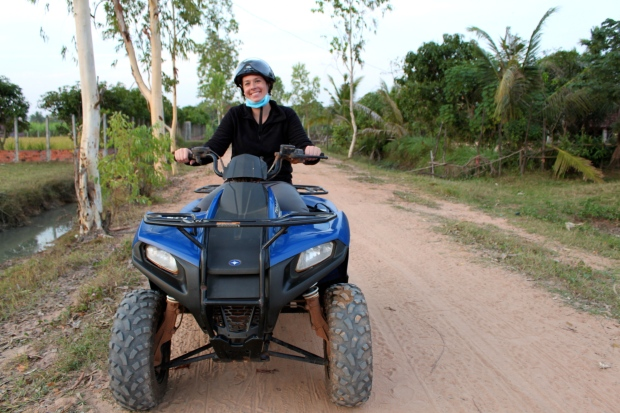 Quad biking in Siem Reap
