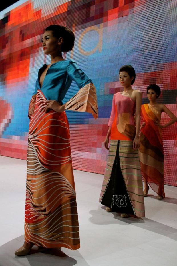 Chula at Vietnam Fashion Week