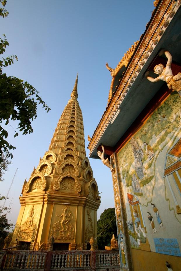 Monastery at the top of Phnom Sampeau