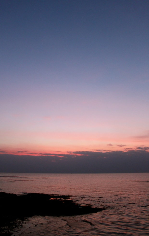 Kep sunset from La Baraka restaurant at the crab market