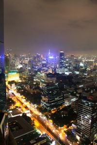 View of Bangkok from the Banyan Tree bar