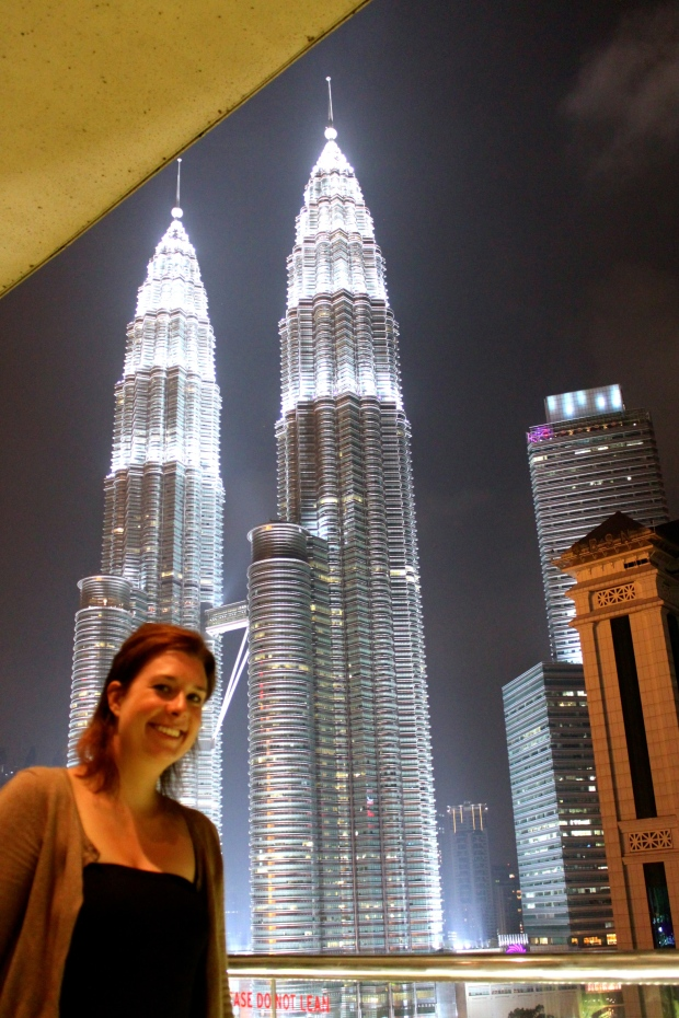 Petronas Towers from the hotel bar