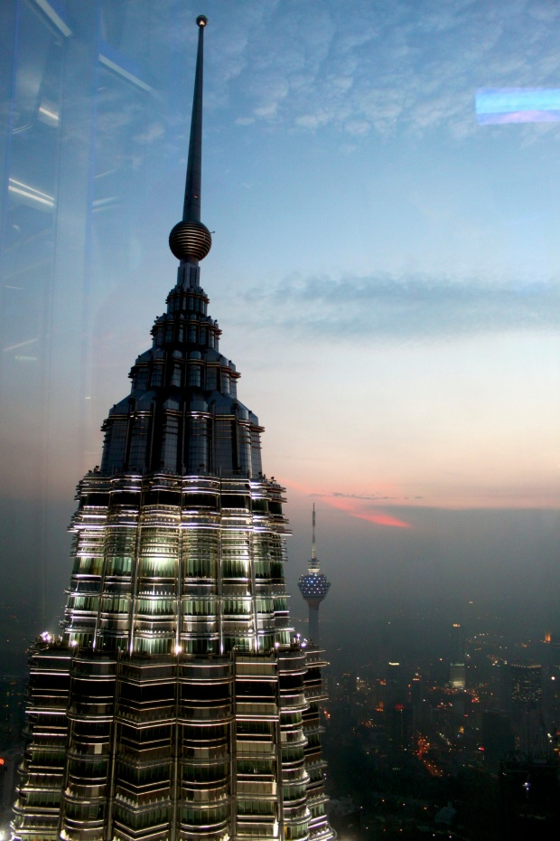 View from Petronas Towers in better weather