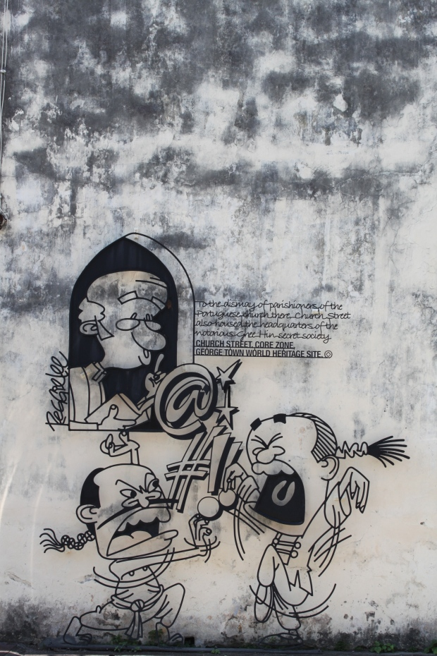 Street art in Georgetown, Penang