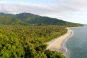 North Lombok coast line