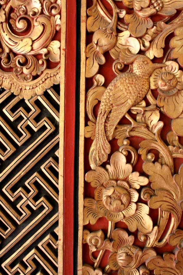 Door detail at the Puri Lukisan museum in Ubud