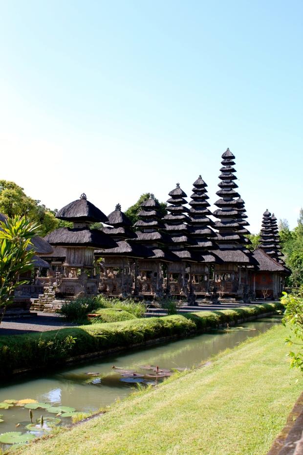 Taman Ayun temple near Mengwi in Bali
