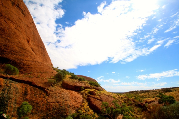View from the second lookout at Kata Tjuta