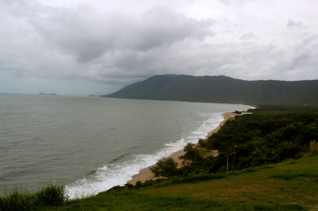 View from the coastal road at Daintree National Park