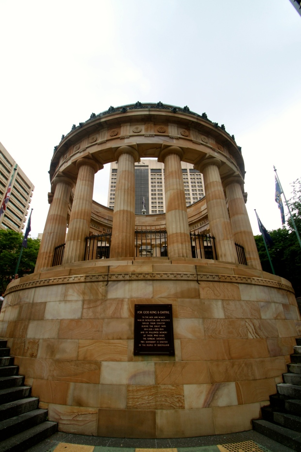 The Shrine of Remembrance in Anzac Square, Brisbane