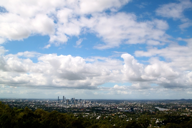 Views of Brisbane from the Mount Coot-tha lookout