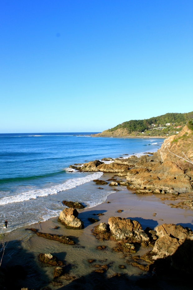 Lookout from The Pass, Clarke's Beach, Byron Bay