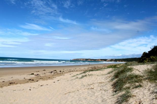 Near Torquay on the Great Ocean Road