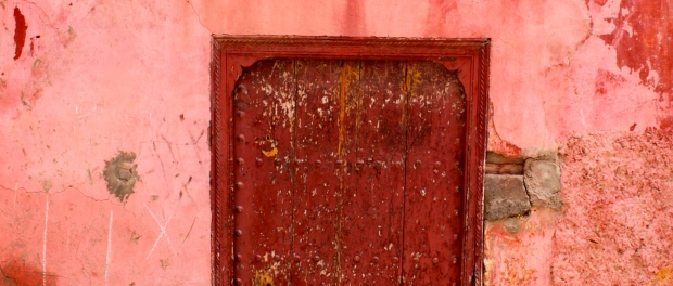 A doorway in the medina, Marrakech