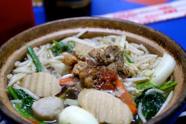 Chicken mohinga soup