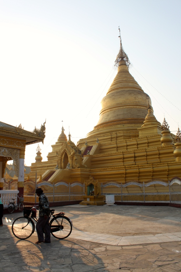 Temple at the World's Biggest Book in Mandalay