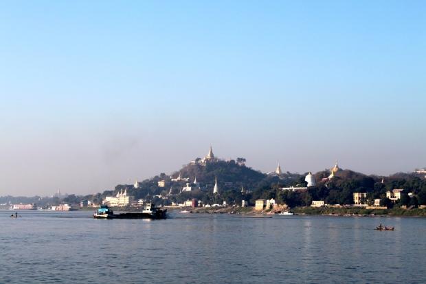 Sagaing hillside