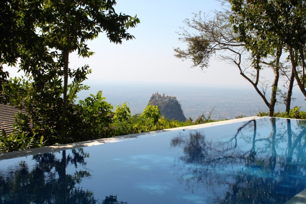 View from the Mount Popa resort
