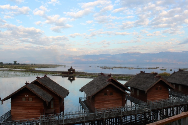 At Hu Pin Inle Khaung Daing Village Resort on Inle Lake