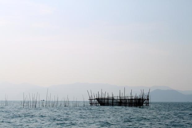 Fish traps in Myeik Archipelago