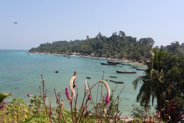 Moken village at Bo Cho