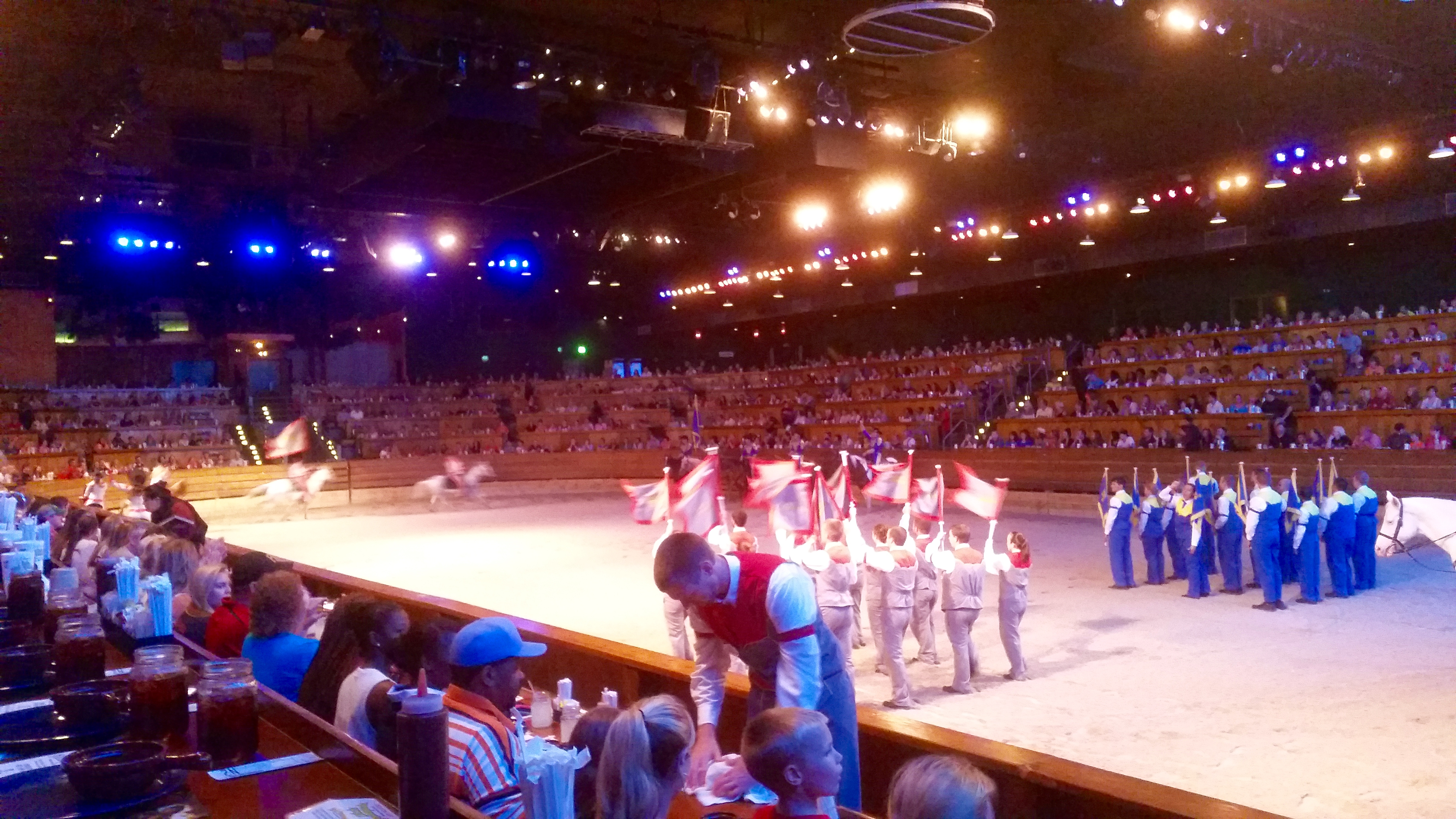At Dixie Stampede