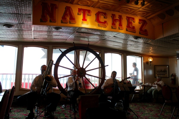 Live Jazz on the Natchez Steamboat