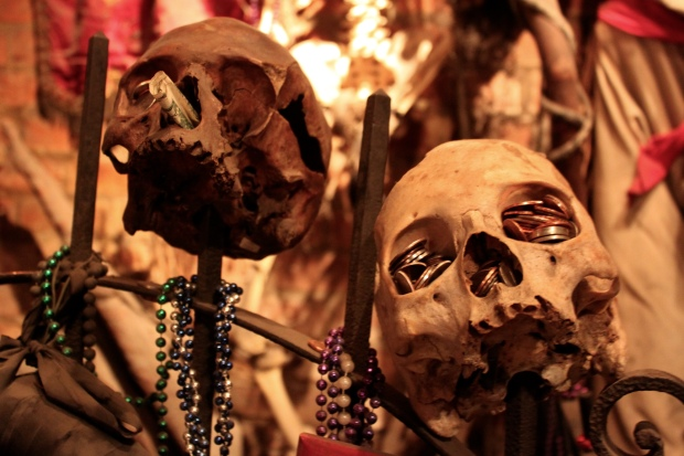 At the Voodoo Museum