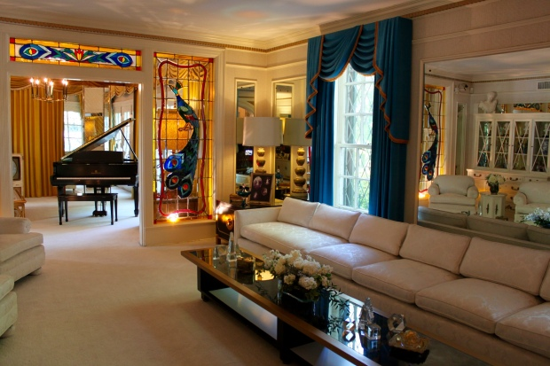 Elvis's living room