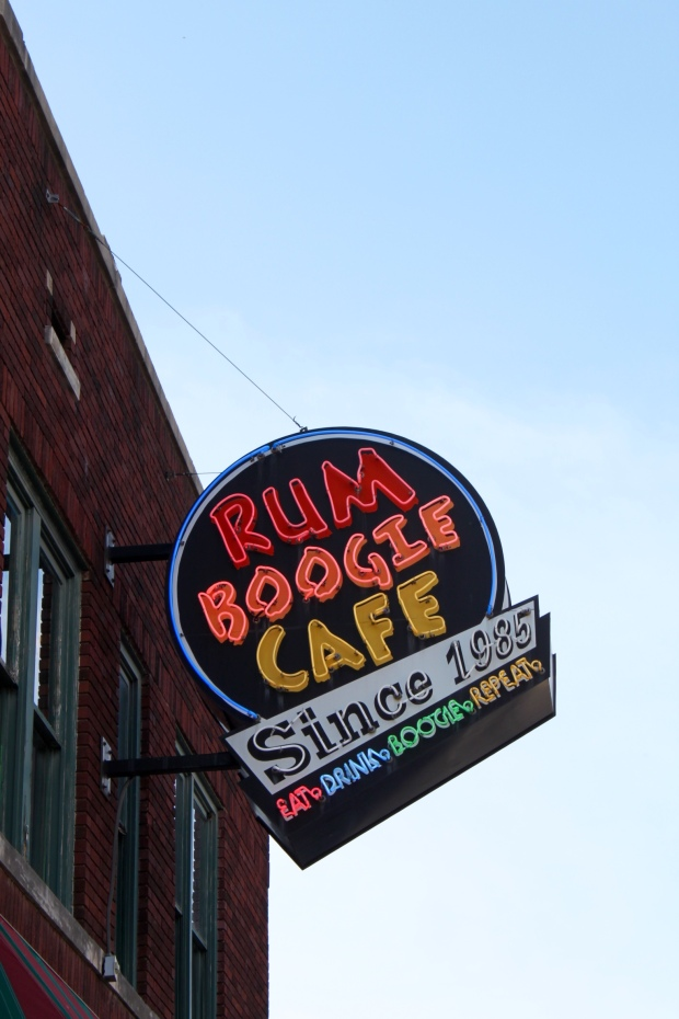 Rum Boogie Cafe on Beale Street