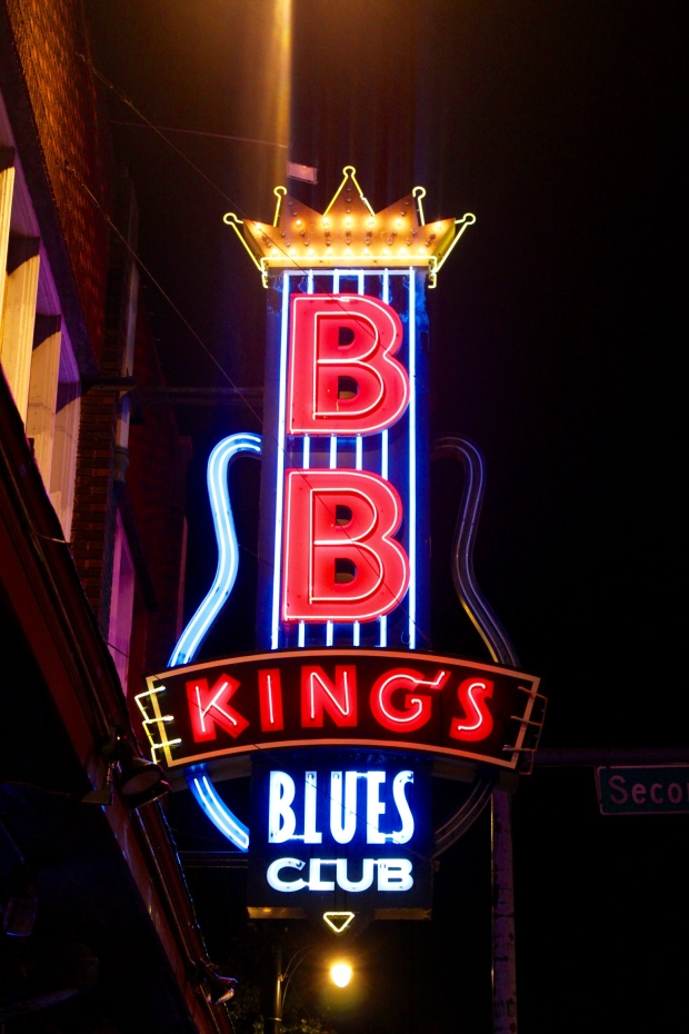 BB King's Club on Beale Street