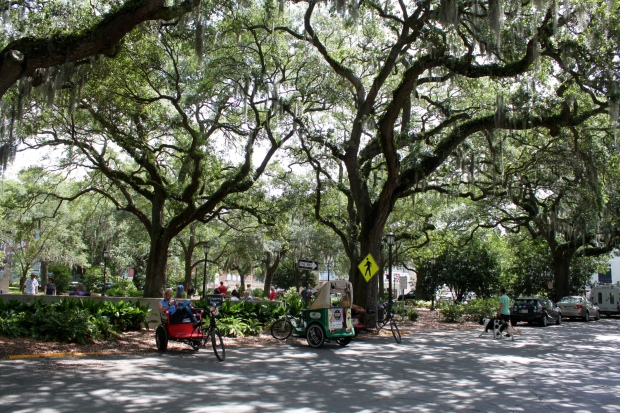 Chippewa Square, where Forrest Gump sat on the bench in Savannah