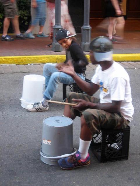Bourbon Street musicians