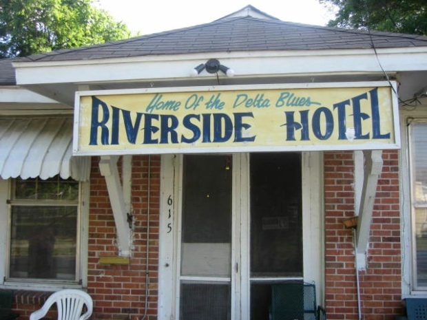The Riverside Hotel in Clarksdale